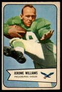 1954 Bowman #104 Jerome Williams EX++ Excellent++