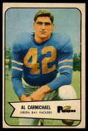 1954 Bowman #115 Al Carmichael EX/NM