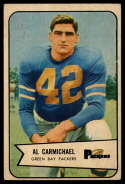 1954 Bowman #115 Al Carmichael EX Excellent