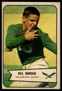 1954 Bowman #120 Neil Worden EX Excellent