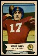 1954 Bowman #122 Arnold Galiffa EX/NM