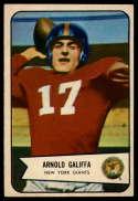 1954 Bowman #122 Arnold Galiffa EX++ Excellent++