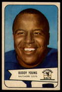 1954 Bowman #38 Buddy Young EX Excellent