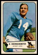 1954 Bowman #124 Bob Hoernschemeyer EX/NM