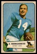 1954 Bowman #124 Bob Hoernschemeyer EX Excellent