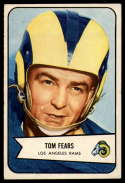 1954 Bowman #20 Tom Fears EX/NM