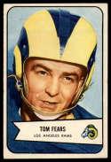 1954 Bowman #20 Tom Fears EX/NM