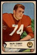 1954 Bowman #67 Ralph Starkey VG/EX Very Good/Excellent