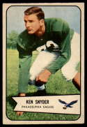 1954 Bowman #69 Ken Snyder VG/EX Very Good/Excellent