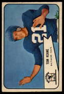 1954 Bowman #72 Tom Keane VG/EX Very Good/Excellent SP