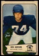 1954 Bowman #82 Ken Jackson VG Very Good