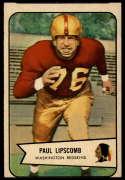 1954 Bowman #83 Paul Lipscomb VG Very Good
