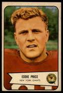 1954 Bowman #86 Eddie Price EX Excellent