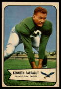 1954 Bowman #87 Ken Farragut VG/EX Very Good/Excellent