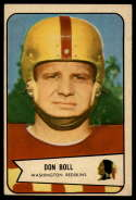 1954 Bowman #89 Don Boll VG/EX Very Good/Excellent