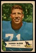 1954 Bowman #91 Thurman McGraw EX Excellent