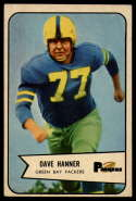 1954 Bowman #88 Dave Hanner EX Excellent RC Rookie SP