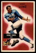 1955 Bowman #4 Dorne Dibble VG Very Good