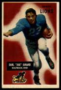 1955 Bowman #15 Jug Girard EX Excellent