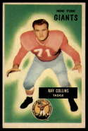 1955 Bowman #41 Ray Collins VG/EX Very Good/Excellent