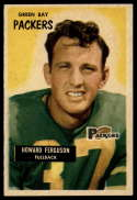 1955 Bowman #57 Howard Ferguson VG Very Good