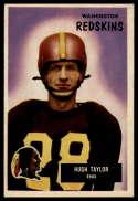 1955 Bowman #6 Hugh Taylor UER NM Near Mint