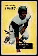 1955 Bowman #67 Eddie Bell EX Excellent