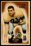 1955 Bowman #69 Tom Dahms EX Excellent