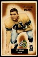 1955 Bowman #69 Tom Dahms VG/EX Very Good/Excellent
