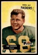 1955 Bowman #86 Len Szafaryn UER G/VG Good/Very Good