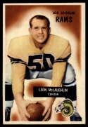1955 Bowman #88 Leon McLaughlin VG/EX Very Good/Excellent