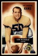 1955 Bowman #88 Leon McLaughlin VG/EX Very Good/Excellent