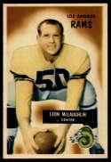 1955 Bowman #88 Leon McLaughlin EX/NM