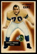 1955 Bowman #89 Charles Toogood VG/EX Very Good/Excellent