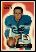 1955 Bowman #103 Carl Taseff EX Excellent RC Rookie