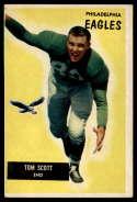 1955 Bowman #105 Tom Scott VG/EX Very Good/Excellent