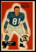 1955 Bowman #107 Art Spinney VG/EX Very Good/Excellent
