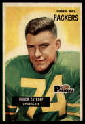 1955 Bowman #111 Roger Zatkoff G/VG Good/Very Good