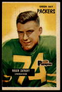 1955 Bowman #111 Roger Zatkoff VG Very Good