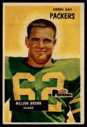 1955 Bowman #117 William Brown VG/EX Very Good/Excellent
