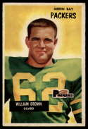 1955 Bowman #117 William Brown EX++ Excellent++
