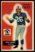 1955 Bowman #118 Royce Womble EX Excellent