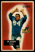 1955 Bowman #128 Jim Salsbury VG/EX Very Good/Excellent