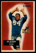 1955 Bowman #128 Jim Salsbury EX Excellent