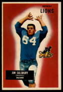1955 Bowman #128 Jim Salsbury EX++ Excellent++
