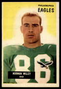 1955 Bowman #138 Norm Willey VG Very Good