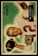 1955 Bowman #141 Bob Clatterbuck VG/EX Very Good/Excellent