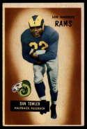 1955 Bowman #47 Dan Towler EX Excellent
