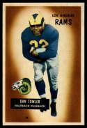 1955 Bowman #47 Dan Towler EX/NM