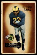 1955 Bowman #47 Dan Towler VG Very Good
